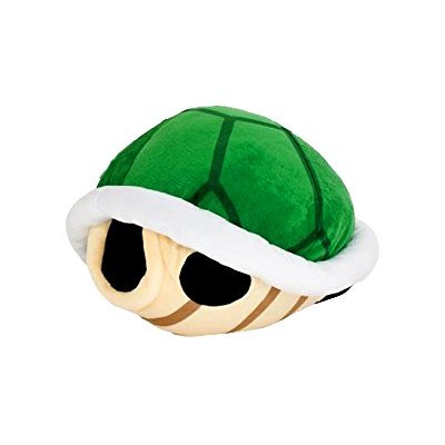 Super Mario Bros Koopa Shell Plush Big Size 16.5 inch Green Turtle ()