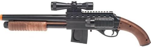 Smith & Wesson M3000 Spring-powered Airsoft Shotgun W/ Light