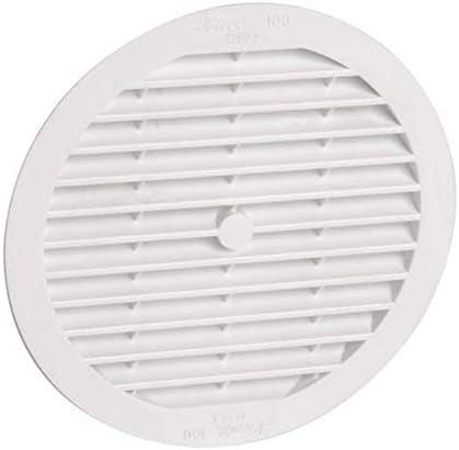 Nicoll Grille d aeration a visser ou a coller classique ronde simple b113