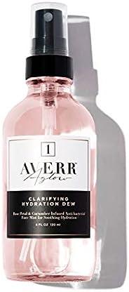 Averr Aglow Clarifying Hydration Dew, Daily Face Skin Moisturizer, Skincare Mist, Natural Vitamin Solution Tre