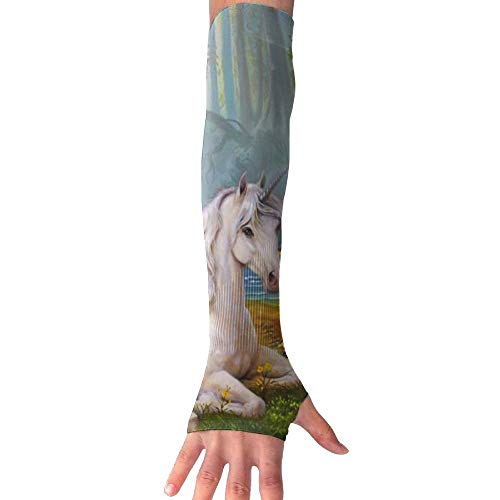 XIKEWL Music for A Unicorn Anti-Uv Protection Sun Arm Sleeves Gloves Lightweight Outdoor Travel Arm for Riding Hiking Running Golf Fishing 1 Pair by XIKEWL