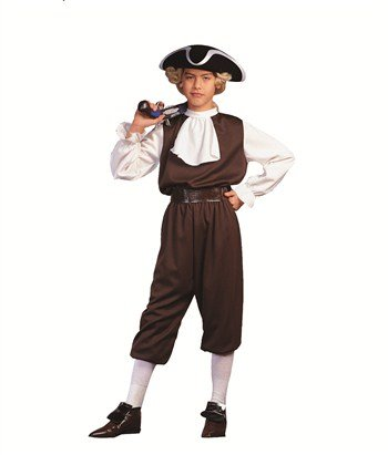 RG Costumes Colonial Boy, Child Medium/Size 8-10 -