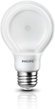 60 w A19 Replacement Philips SlimStyle 10.5-watt Daylight LED Light Bulb Dimmable 1 Pack