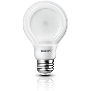 Philips SlimStyle 10.5-watt Daylight LED (60 w A19 Replacement) Light Bulb, Dimmable, 1 pack