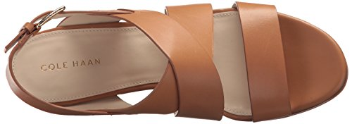 Cole Haan Women's Penelope II Wedge Sandal, Pecan Leather, 7.5 B US by Cole Haan (Image #8)