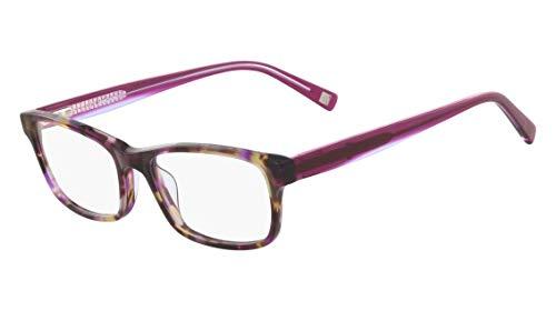 Óculos Marchon Nyc M-Cornelia 518 Tartaruga Roxo Lente Tam 52