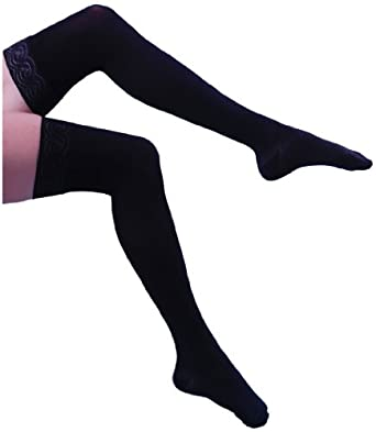a117a24396c Amazon.com  Bauerfeind VenoTrain Micro Thigh-high 20 - 30 mmHg Compression  Stockings  Industrial   Scientific