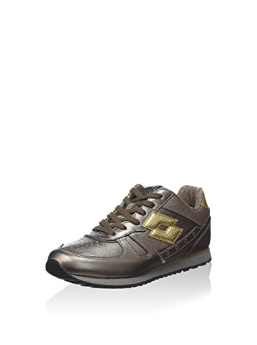 3 Gold S5858 Lotto Metallo Women's 5 Oro Gold Trainers qwXFWOgFS