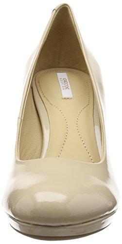 D c8182 Lana C Geox Donna Tacco beige Scarpe Beige Col qvHxOgw