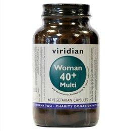 Viridian Woman 40plus Multi 60 Veg Caps by Viridian VIR109