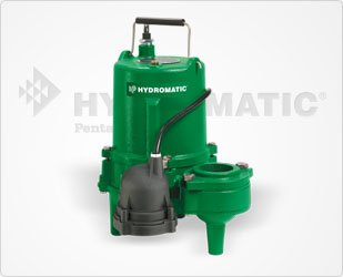 Hydromatic SP50M1 1/2 HP, 1 Phase, 115 Volt Cast Iron Submersible Sewage Ejector Pump (Manual), 20