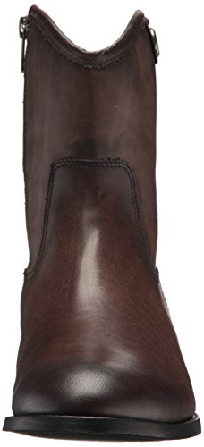 Frye Womens Melissa Button Short 2 Boot Smoke