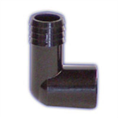 Lifegard Aquatics 1-Inch Slip Elbow Insert (Slip Aquarium Bulkhead)