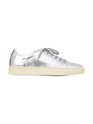 Fælles Projekter Kvinder 38390509 Sølv Læder Sneakers fP5Fu52