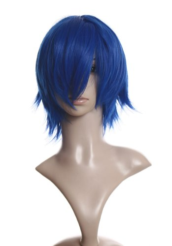 Cosplayland C936 – 40cm layered flip out heat-resist Theater Costume Wig – Loyal blue 31gUE3V0CGL