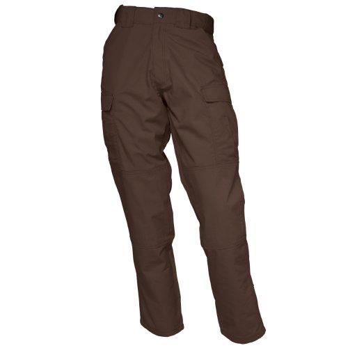 5.11 Tactical Men's Ripstop TDU Pants, Brown, Large/Short