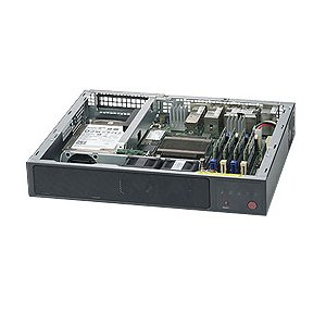 Supermicro SuperServer SYS-E200-9A w/ Intel Atom C3558, 4x GbE LAN ()