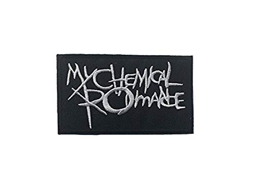 My Chemical Romance DIY Metal Rock Punk Emo Retro Music Band Embroidered Sew Iron On Patch Badge -