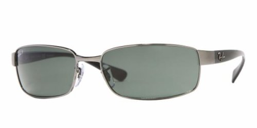 4423ed41584 Image Unavailable. Image not available for. Colour  Ray Ban RB 3364  Sunglasses 004 58 Gunmetal