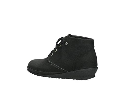 Negro de Botas Wolky 0725111002 Piel para Mujer YH0qfOn7