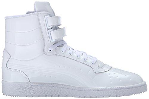Sneaker Fashion Sky HI White Patent Puma PUMA Men's Emboss II 0qYgw