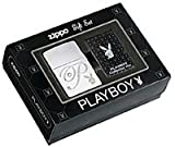 Zippo Playboy Lighter and Pin Gift Set