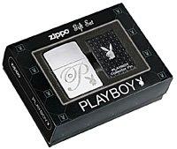 Zippo Playboy Lighter and Pin Gift Set