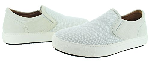 Donald J Pliner Caidan Hommes Baskets Slip-on Chaussures Blanc