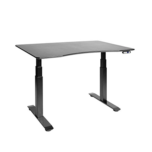Seville Classics AIRLIFT S3 Electric Standing Desk Frame /w 54