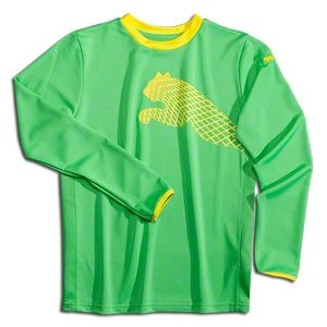 PUMA Cat Youth Goalkeeper Jersey GREEN