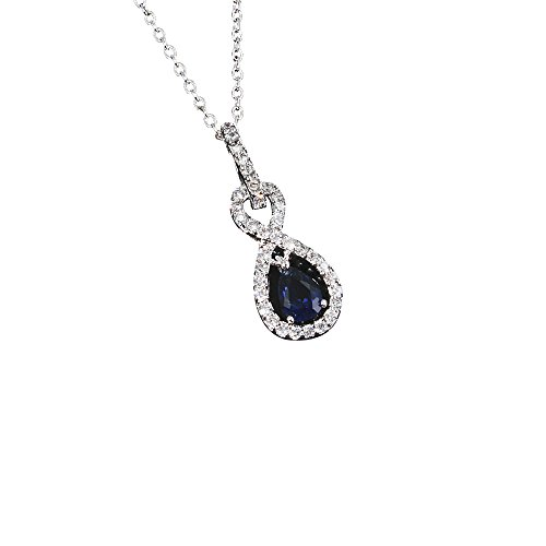 Gifts for Women Necklace 18k Plated Cubic Zirconia Exquisite Pendant Necklace for Girls -