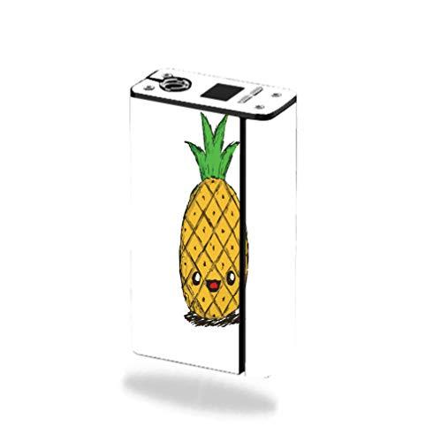 Decal Sticker Skin WRAP - Smok XCube Mini 75W - Animated Happy Pineapple Design