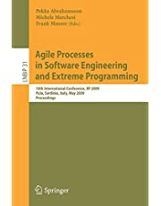 Agile Processes in Software Engineering and Extreme Programming: 10th International Conference, XP 2009, Pula, Sardinia, Italy, May 25-29, 2009, Proceedings