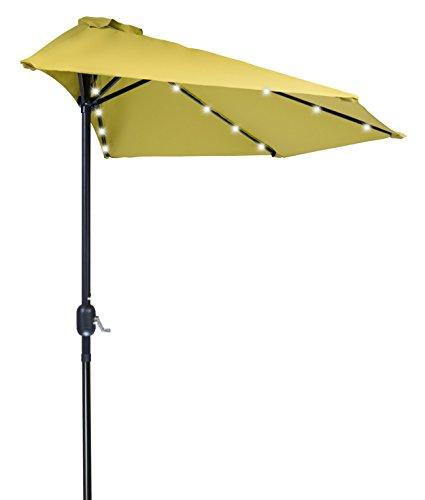 Patio LED Half Umbrella Innovations