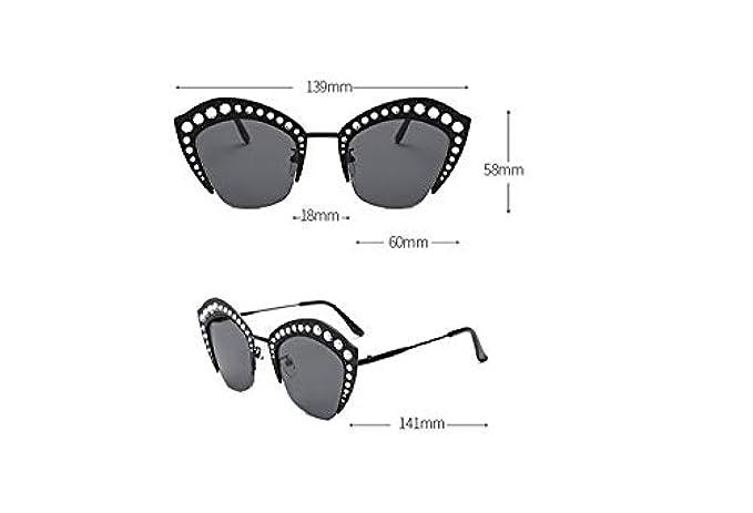Polarizzate Lenti C Da Donna E Uomo Sole,europa Uniti Montatura Sole Tendenza Occhiali Uv400 Mezza Stati Protezione Moda Uv