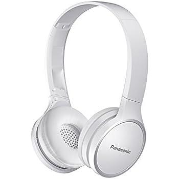 Panasonic RP-HF400B-W Bluetooth On-Ear Headphones White
