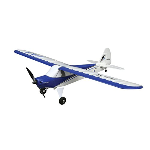 HobbyZone Sport Cub S RC Airplane RTF with SAFE Technology (Includes 6-CH 2.4GHz Transmitter | 150mAh 3.7V LiPo Battery | USB Charger), HBZ4400 (Rc Plane Kit Electric)
