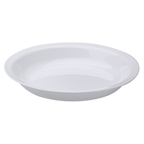 Corelle Winter Frost White 26cm Deep Pie Plate, Pack of 3 (Corelle White Sugar)