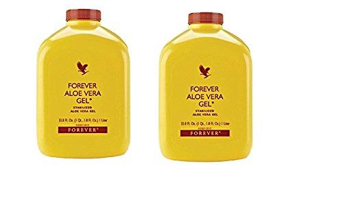 (Forever Living Aloe Vera Gel - 1 L (Pack Of 2))