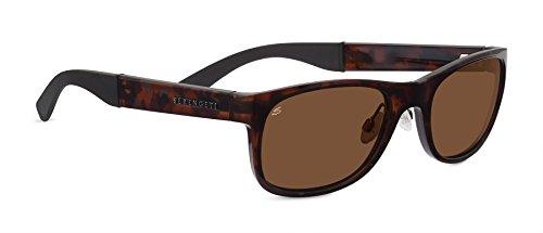 Serengeti Eyewear Lunettes de soleil, Piero marron