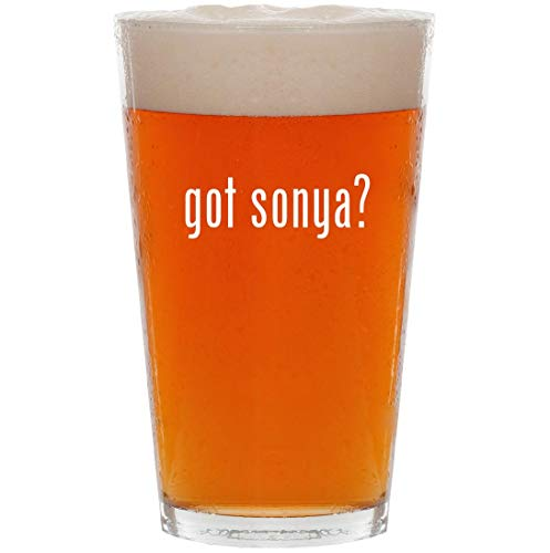got sonya? - 16oz All Purpose Pint Beer -