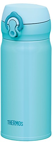 THERMOS water bottle vacuum insulation Mobile mug [one-touch open type] 0.35L Sky Blue JNL-352 SKY - Sky Type