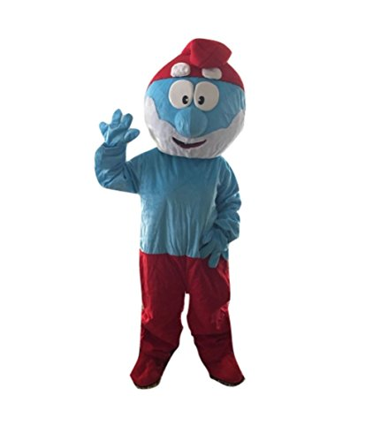 Papa Smurf Costume Adult Size For Birthday Boy or Girl Birthday Party Event …