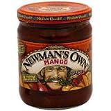 Newman's Own All Natural Medium Mango Salsa, 16 oz (Pack of 12)