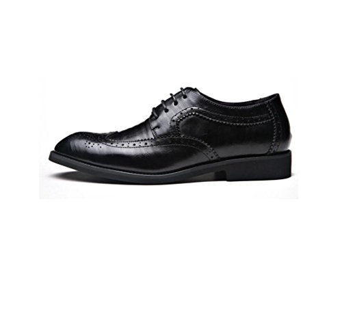 Black Ribbon Uomo Autunno Inverno Colore Round Estate zmlsc da Canvas Primavera Business Casual Scarpe Soft A Punta Sport YxCwFqgTwO