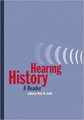 Hearing history a reader mark smith 9780820325835 amazon hearing history a reader mark smith 9780820325835 amazon books fandeluxe Choice Image