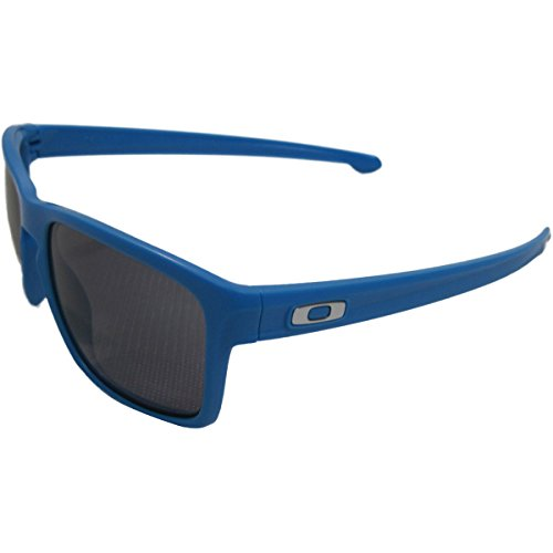 Oakley Men's Sliver Machinist Sunglasses, MttSkyBlue/Grey, - Oakley Silver