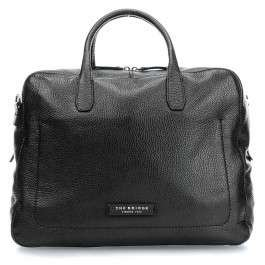 The Bridge Plume Soft Uomo 12'' Sac d'ordinateur noir