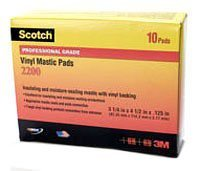 Scotch Vinyl Mastic Roll 2210, 4 in x 10 -