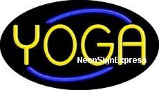 - Yoga Flashing Neon Sign